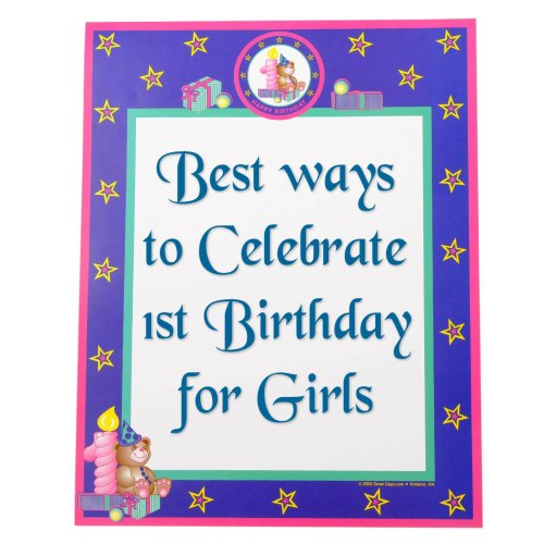 Best Ways To Celebrate 1st Birthday For Girls